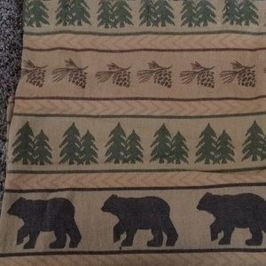 Park Design Rustic Fabric Shower Curtain